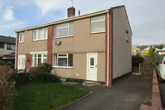 Thumbnail Semi-detached house to rent in Wheatsheaf Drive, Ynysforgan, Swansea, City And County Of Swansea.