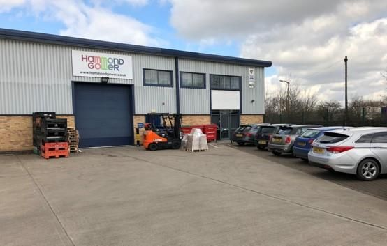 Light industrial to let in A1, Langham Park, Lows Lane, Stanton By Dale, Derbyshire