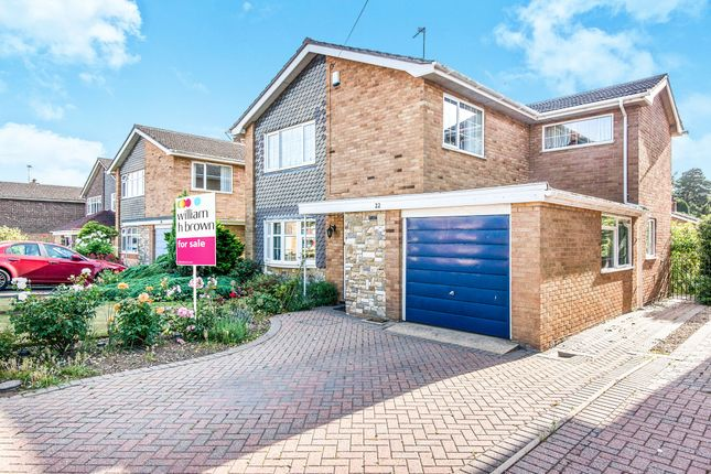 Thumbnail Detached house for sale in The Warren, Old Catton, Norwich