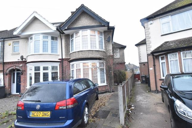 3 bed semi-detached house for sale in St. Michaels Crescent, Luton LU3