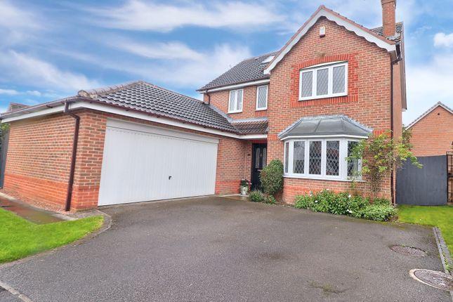 5 bed detached house for sale in Welland Road, Hilton, Derby DE65