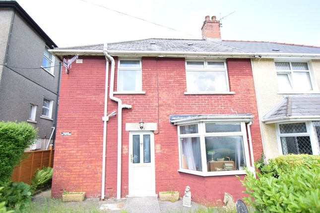 Thumbnail Semi-detached house for sale in The Avenue, Wyllie, Blackwood