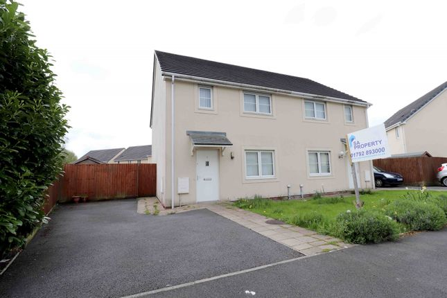 Thumbnail Semi-detached house for sale in Golwg Y Llanw, Pontarddulais, Swansea