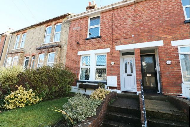 Thumbnail Terraced house to rent in Church Road, Willesborough, Ashford
