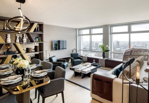 Thumbnail Flat for sale in Centre Point Residences, Covent Garden