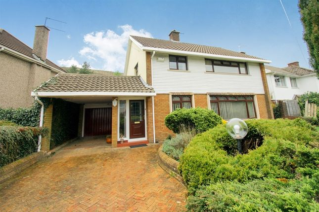 Thumbnail Detached house for sale in Danygraig Drive, Talbot Green, Pontyclun