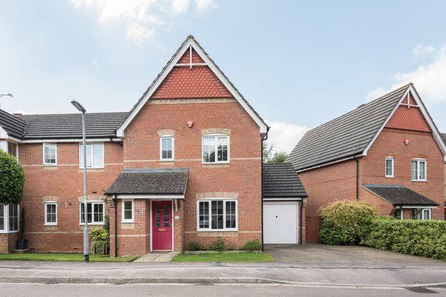 Thumbnail Semi-detached house to rent in Winchfield, Caddington, Luton