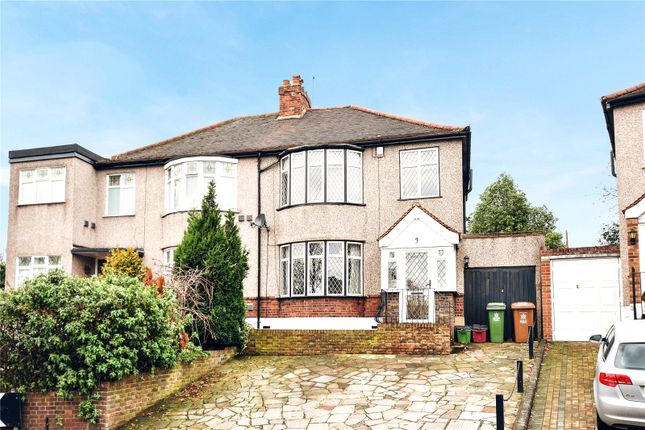 Thumbnail Semi-detached house for sale in Arbuthnot Lane, Bexley, Kent