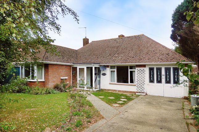 Thumbnail Detached bungalow to rent in Glenville Road, Rustington, Littlehampton