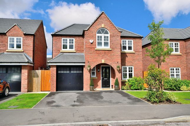 Thumbnail Detached house to rent in Commissioner Square, Sandford Village, Warrington