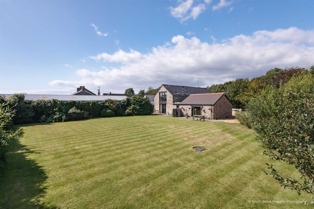 Thumbnail Barn conversion for sale in Oldwick Barn, Purlon Farm Wick Road, Llantwit Major