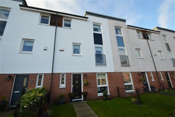 Thumbnail Town house for sale in Craigend Court, Anniesland, Glasgow