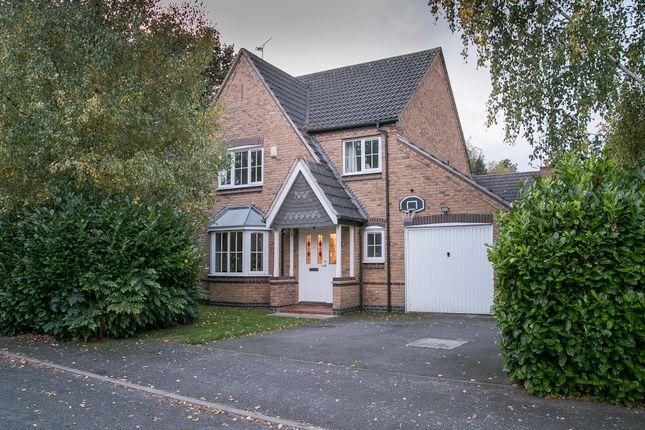 Thumbnail Detached house for sale in Mount Grace Road, Loughborough