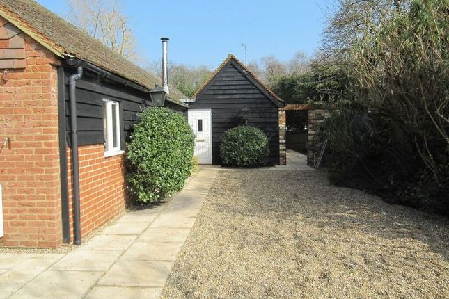 Thumbnail Detached bungalow for sale in Station Road, Chobham, Woking