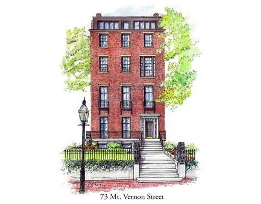 Thumbnail Property for sale in 73 Mount Vernon Street 1, Boston, Ma, 02108