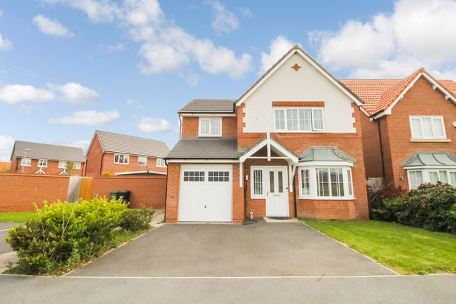 Thumbnail Detached house for sale in Cae Thorley, Rhyl