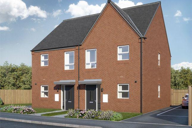 Thumbnail Semi-detached house for sale in Burton Road, Woodville, Swadlincote, Derbyshire