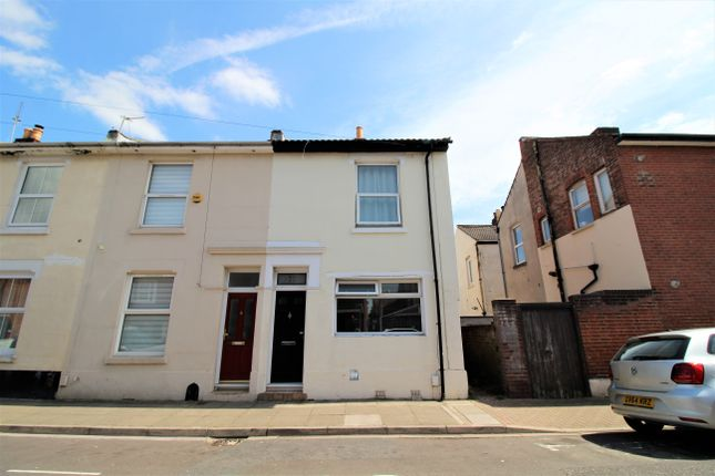 Thumbnail End terrace house to rent in Napier Road, Southsea