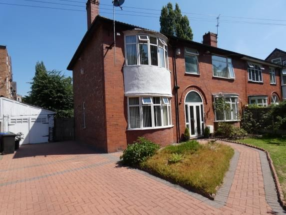 Thumbnail Semi-detached house for sale in Alness Road, Whalley Range, Manchester, Greater Manchester