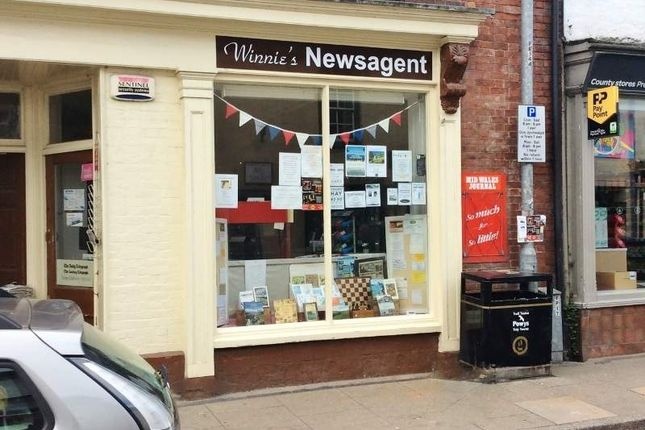 Thumbnail Retail premises for sale in Albert Square, High Street, Presteigne