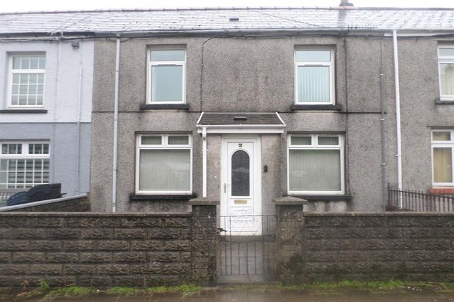Thumbnail Terraced house to rent in Ogwy Street, Nantymoel, Bridgend