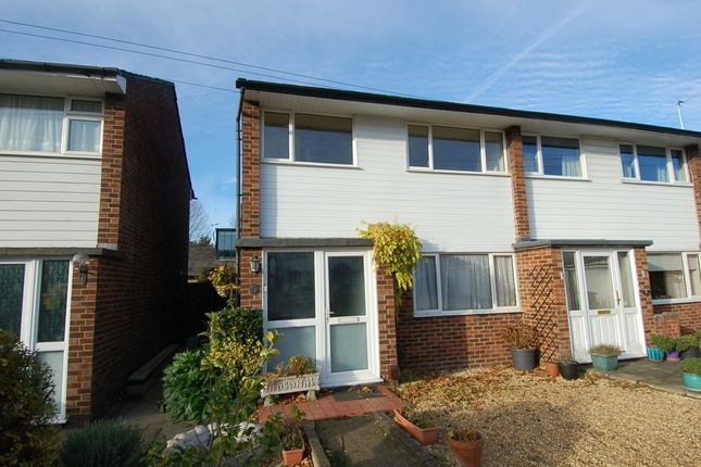 Thumbnail End terrace house for sale in Station Close, Hampton