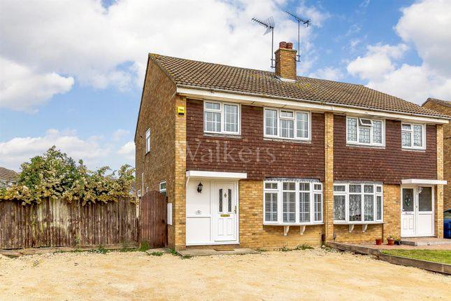 Thumbnail Semi-detached house for sale in Goshawk Drive, Tile Kiln, Chelmsford