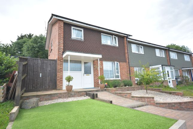 Thumbnail End terrace house for sale in Selkirk Close, Merley, Wimborne