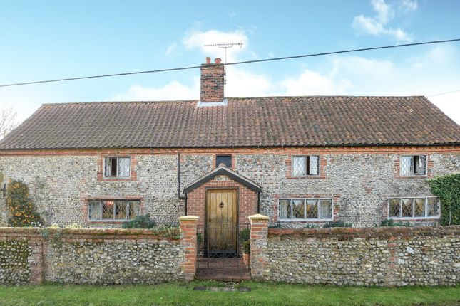 Thumbnail Detached house for sale in Holt Road, Sharrington, Melton Constable