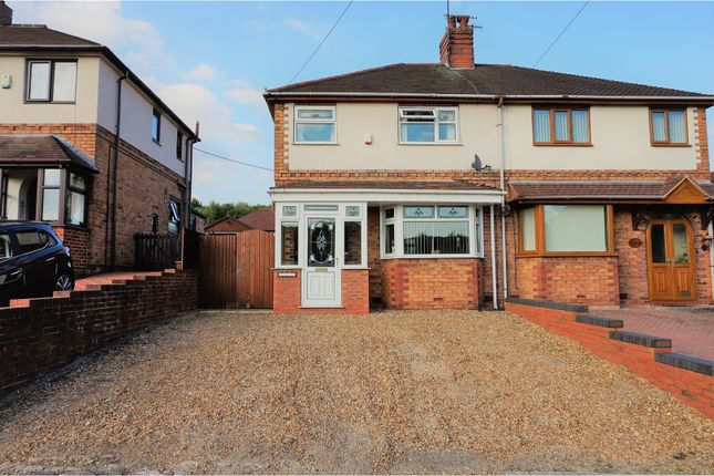 Semi-detached house for sale in Newcastle Street, Silverdale, Newcastle-Under-Lyme