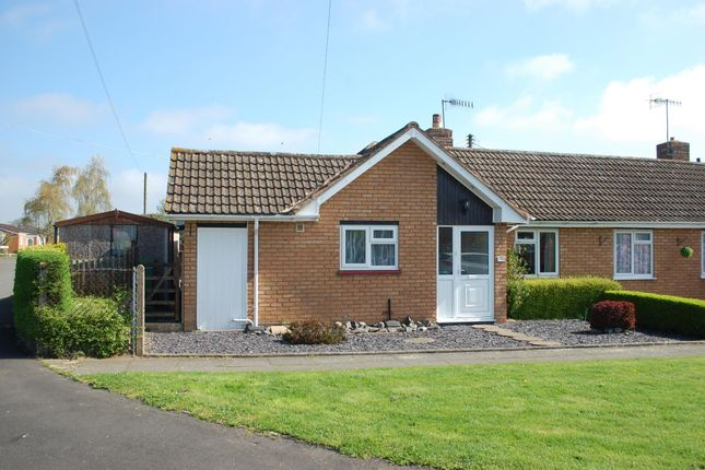 Thumbnail Terraced bungalow for sale in St. Matthews Close, Salford Priors, Evesham