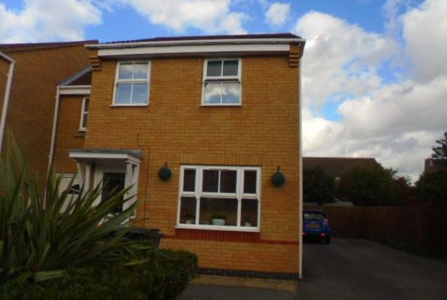 Thumbnail End terrace house to rent in Kirkstall Close, Elstow, Bedford