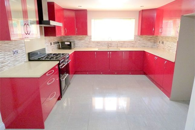 Thumbnail End terrace house to rent in Dovedale Close, Harefield, Middlesex