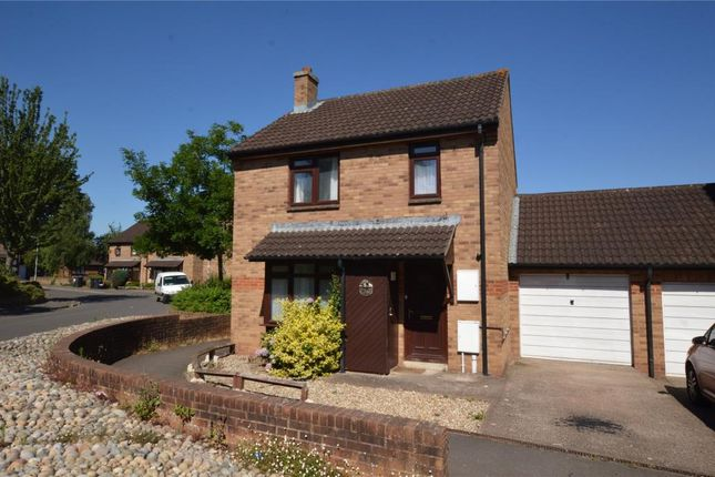 Thumbnail Link-detached house for sale in Fletcher Close, Taunton, Somerset