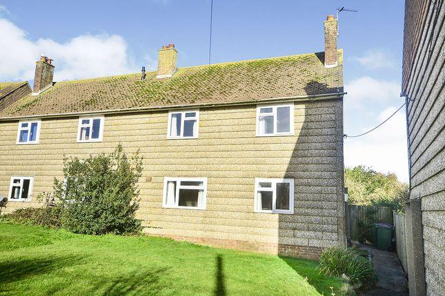 Semi-detached house for sale in Woodland Cottages Woodland Road, Lyminge, Folkestone, Kent