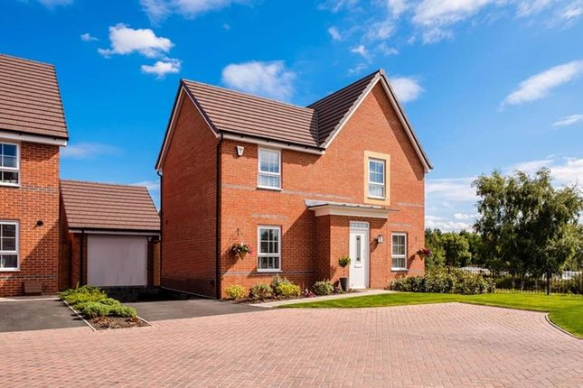 "Thumbnail Detached house for sale in ""Lincoln"" at Rykneld Road, Littleover, Derby"