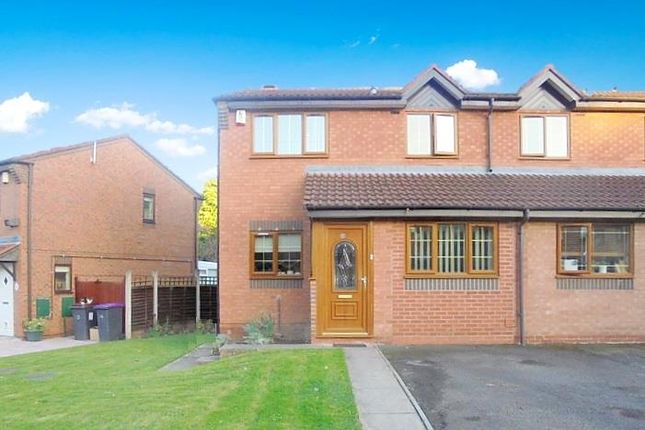 Thumbnail Semi-detached house for sale in Whimbrel Close, Leegomery, Telford
