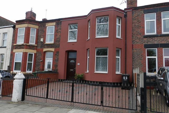 Thumbnail Terraced house for sale in Park Road East, Birkenhead