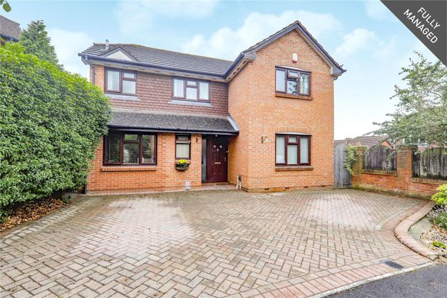 Thumbnail Detached house to rent in Shakespeare Way, Warfield, Bracknell