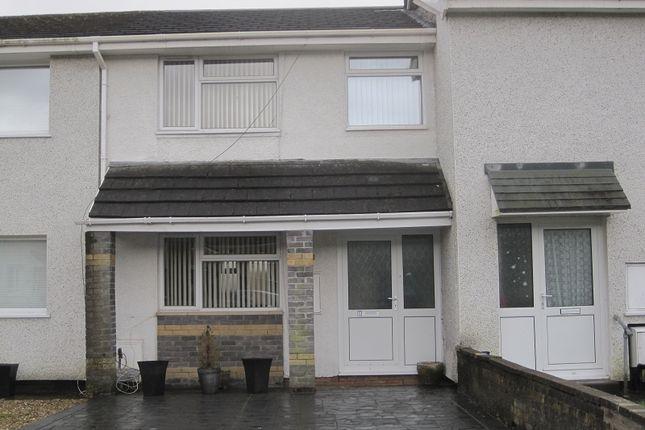 Thumbnail Terraced house to rent in Ffordd Emlyn, Ystalyfera, Swansea.