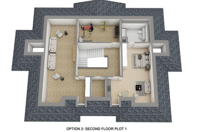 Floor Plan of Ferndown, The Heath, Frilford Heath, Oxfordshire OX13