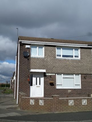 Thumbnail End terrace house to rent in Beagle Square, Silksworth, Sunderland