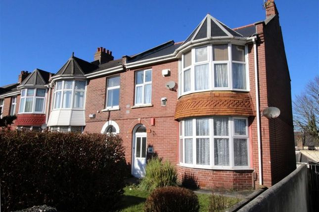 Thumbnail Flat for sale in Milehouse Road, Milehouse, Plymouth