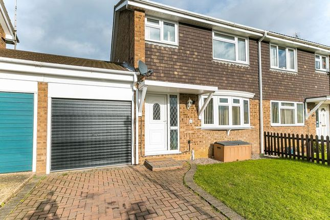 Thumbnail Semi-detached house for sale in Kipling Drive, Newport Pagnell