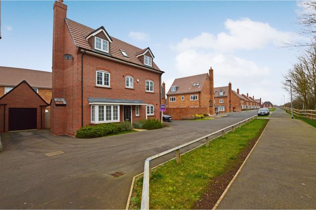 Thumbnail Detached house for sale in Oxford Blue Way, Bedford