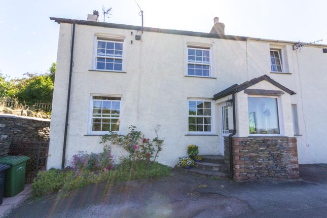Thumbnail End terrace house for sale in Grizebeck, Kirkby-In-Furness