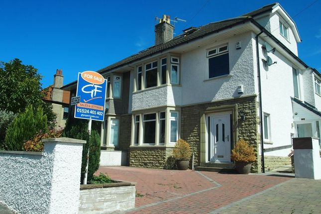 Thumbnail Flat for sale in Mount Avenue, Morecambe