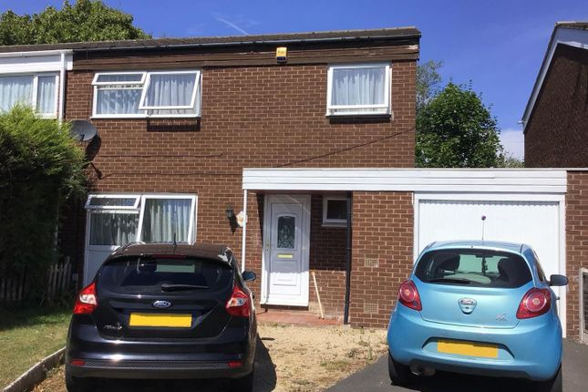 Thumbnail Semi-detached house for sale in Calverhall, Stirchley, Telford