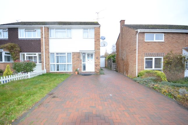 Thumbnail Semi-detached house to rent in Brill Close, Caversham, Reading
