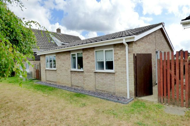 Thumbnail Detached bungalow for sale in Glebe Close, Long Stratton, Norwich
